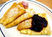 Lingonberry Swedish Pancakes