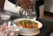 Stir Fried Vegetables In A Sweet And Sour Sauce