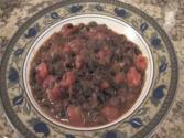 Sweet And Spicy Black Beans - Delicious Mexican Bean Side Dish By Rockin Robin
