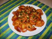 Sauted Hot And Sweet Shrimp