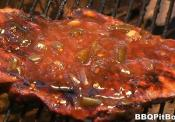 Hot And Sweet Barbecue Sauce  