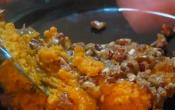 Baked Sweet Potato And Pecan Casserole