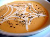 Sweet Potato Pumpkin Thick Soup