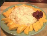 Thai Sticky Rice With Mangoes
