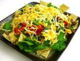 Taco Salad With Cheese & Cilantro