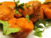 Tandoori Style Scallops