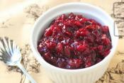 Thanksgiving Cranberry Sauce With Tangerine Cherry