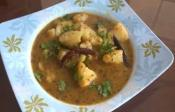Sweet And Tangy Potato Curry