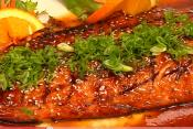Orange Sesame Salmon - Part 3: Finishing