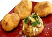Khasta Kachori And Chaat - Dal Puri Or Daal Poori