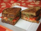 Tempeh Club Sandwich