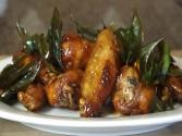 Thai Glazed Garlic Chicken Wing