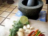 Thai Granite ( Stone ) Mortar And Pestle
