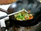 Thai Stir Fried Shrimp And Vegetables