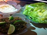 Thai Style Beef Lettuce Wrap