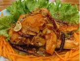 Thai Style Stir-fried Salmon