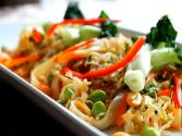 Thai Tamari Rice Noodle Salad (gluten-free) 