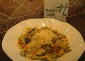 Roasted Butternut Squash And Spinach Farfalle