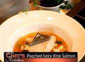 Poached Ivory King Salmon