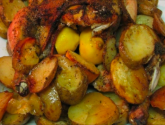 Casserole Roasted Chicken