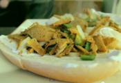 The 'no-killy-philly' Vegan Cheesesteak