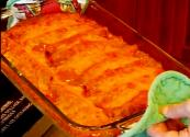 Quick And Easy Whole Enchilada — Cheese And Beef Enchilada