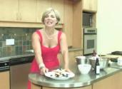Cooking With Shelley West, Blueberry Lavender Cheesecake