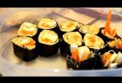 Spicy Tofu Chickpea Sushi
