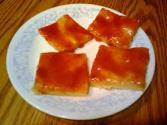 Tomato Aspic In Cheese Crust