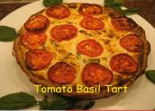 Italian Tomato Ricotta And Basil Tart