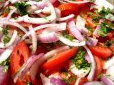 Tomato Onion And Cucumber Relish