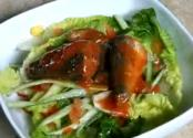 Green Salad With Sardines