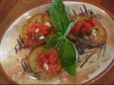 Broiled Tomatoes With Mustard Topping