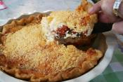Tomato Basil Pie