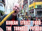 Korean Street Food: The Tornado Potato