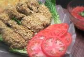 Mexican Tortilla Crusted Chicken Wings