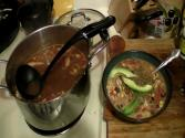 Sapo's Shicken Tortilla Soup