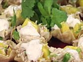 Chicken And Mango Tostadas With Milestone Chardonnay