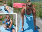 Total Body Beach Workout - Timed Challenge