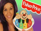 Fisher Price Laugh And Learn Puppy's Piano - Toy Review!