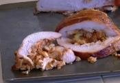 Smoked Kung Pao Chicken Stuffed Turkey