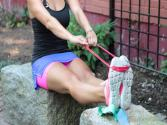 Travel Workout With Exercise Bands - Total Body Workout