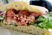 Tropical Crab Sandwiches