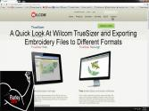 A Quick Look At Wilcom Truesizer And How To Change Embroidery File Formats Dst To Pes And More