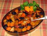 Honey Glazed Sweet Potato & Carrot Tzimmes