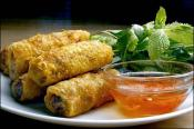 Chicken Spring Rolls