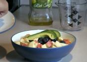 Tuna And Fruit Cup