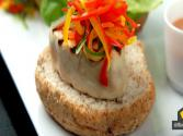 Saturday Chefs - Tuna Burgers With Umami Ketchup And Pickled Windset Veggies