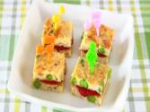 Tuna Egg Bite-size Tamagoyaki Sandwich