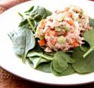 Tuna Salad With Crispy Salad Greens
